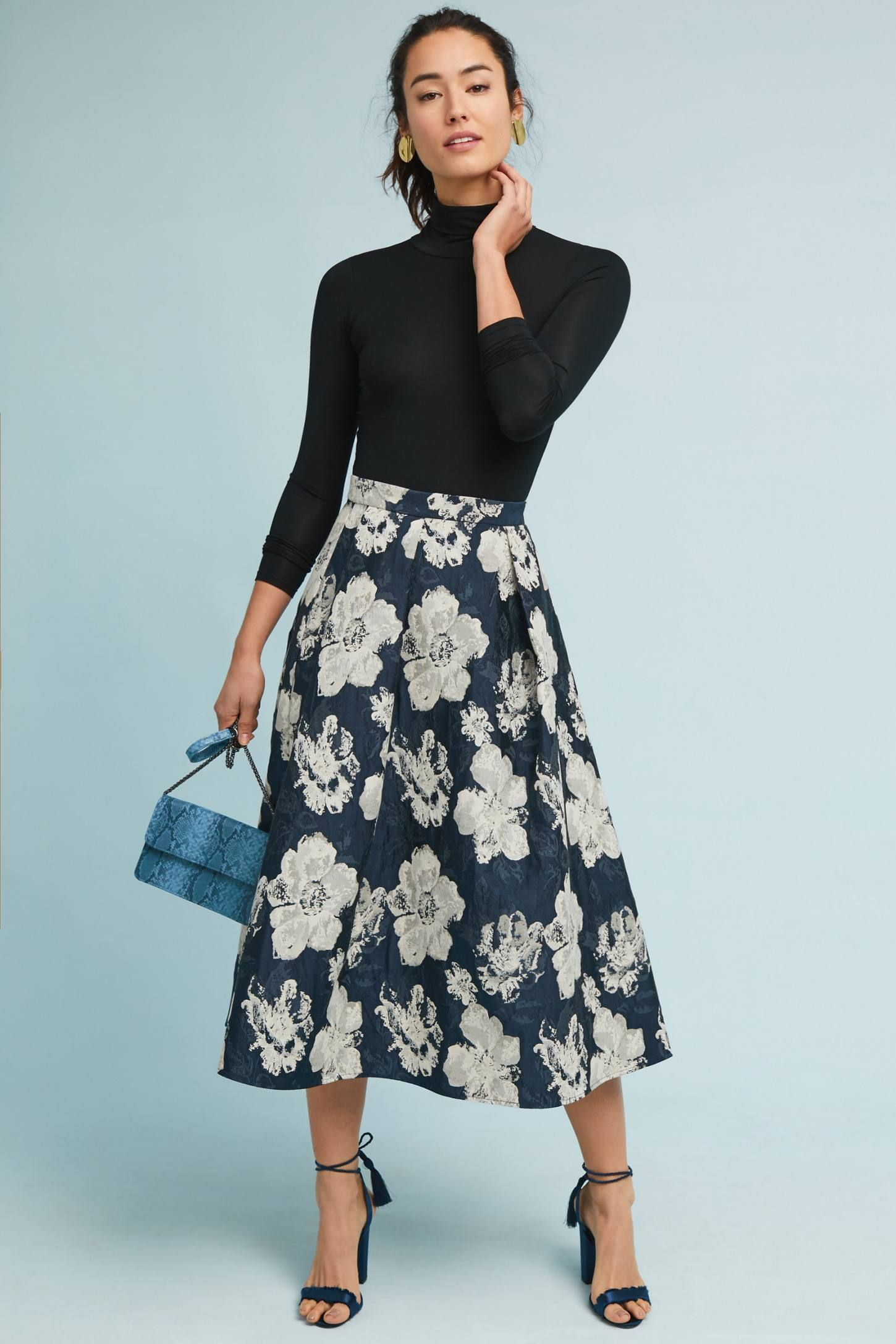 dc83c3f4f4 Shop the Melanie Jacquard Skirt and more Anthropologie at Anthropologie  today. Read customer reviews, discover product details and more.