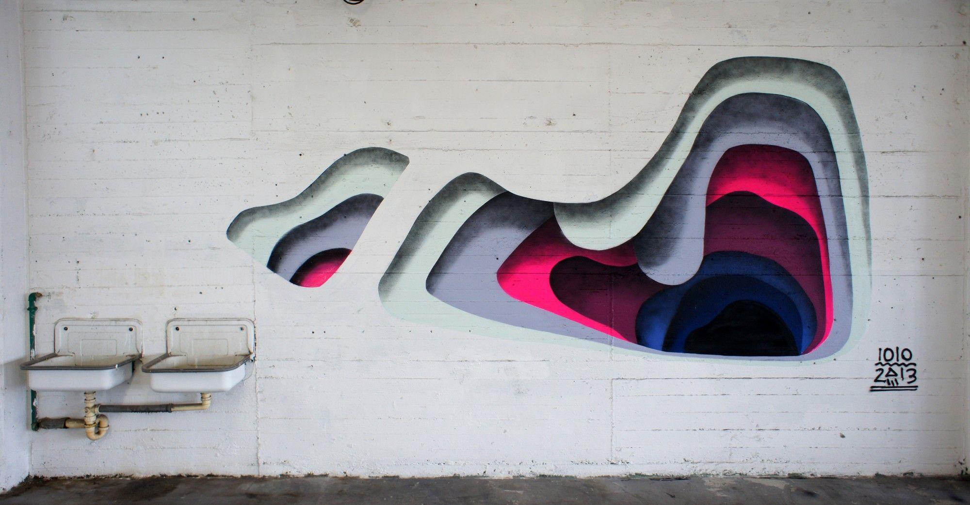 Art of Streetzzz... Colourful WallHole #Streetzzz #Art #Graffiti ... for Street Wall Art Illusions  588gtk