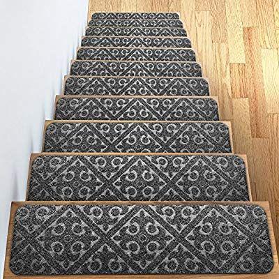 Best Amazon Com Carpet Stair Treads Set Of 13 Non Slip Skid 640 x 480