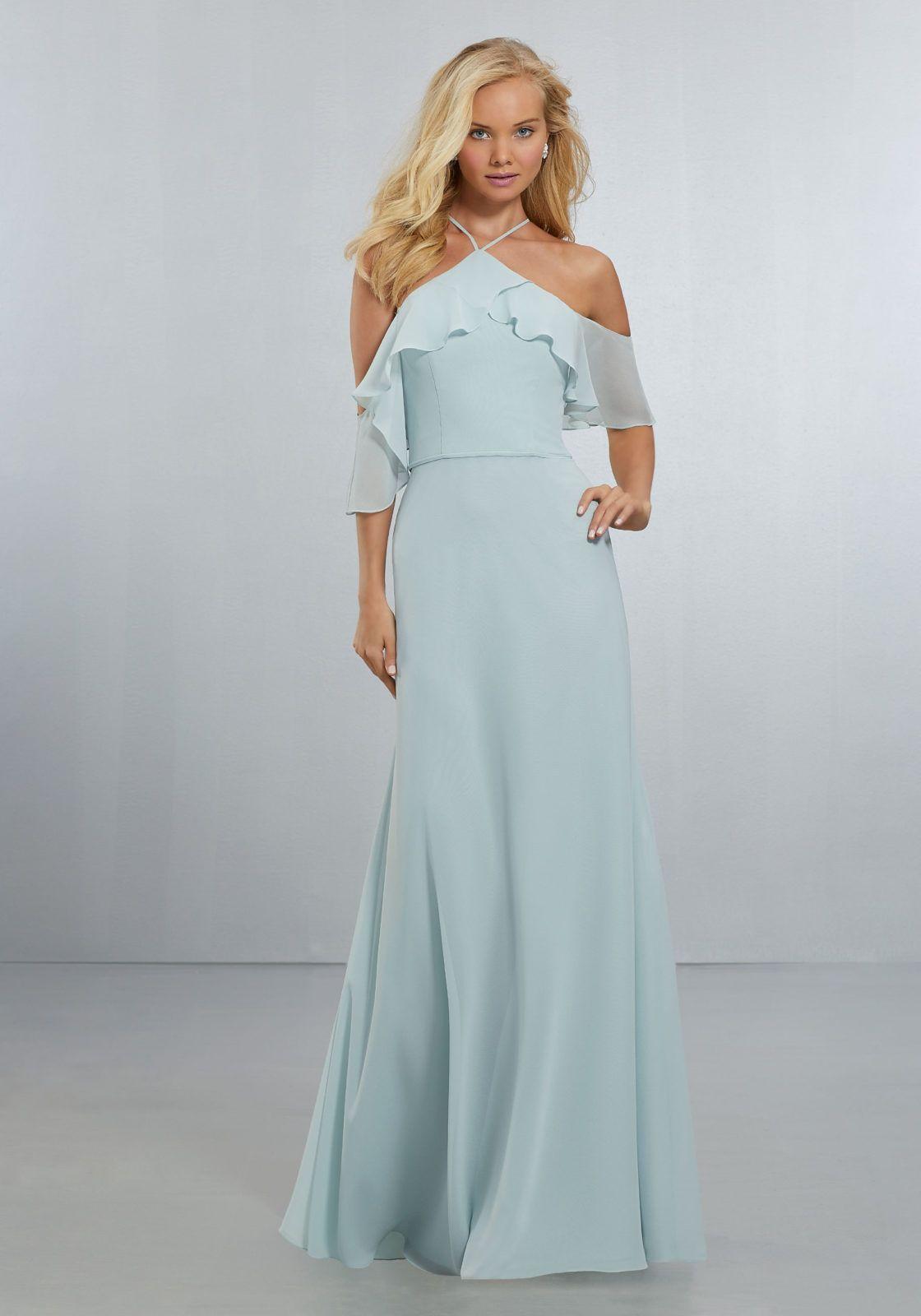 Pin by Maggie Dox on Wedding Style | Pinterest | Chiffon bridesmaid ...