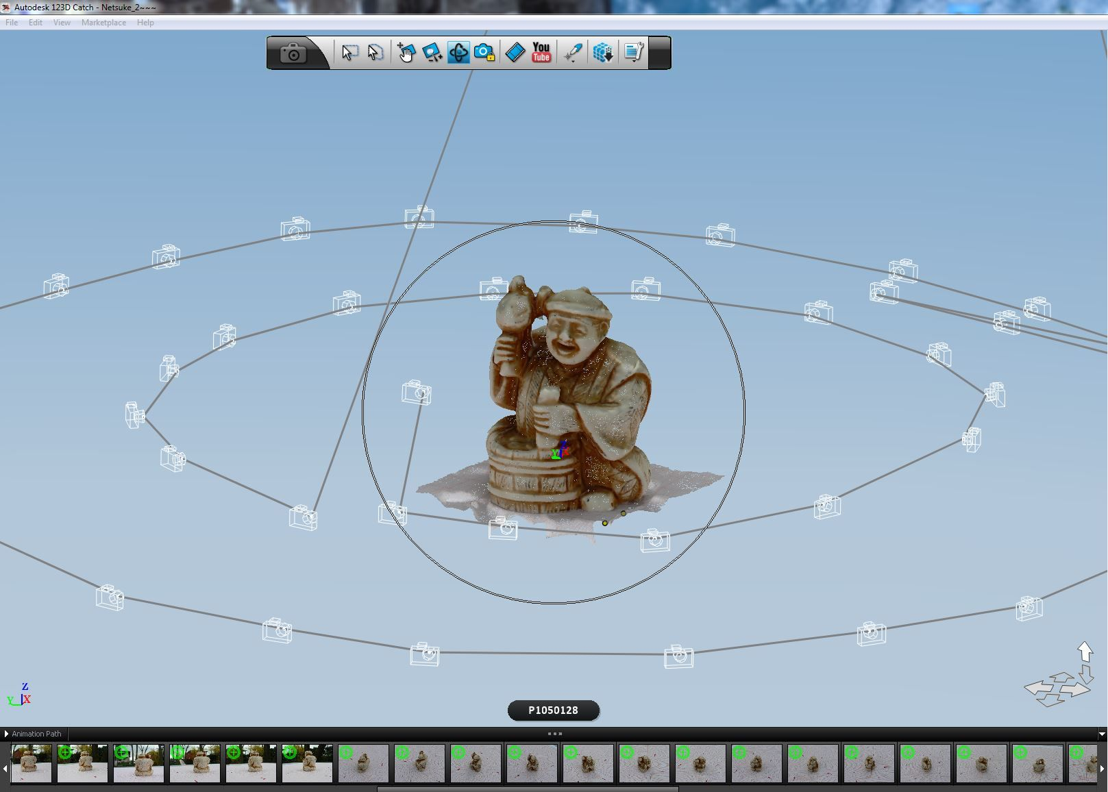 123D Catch, photogrammetry in the cloud Printing