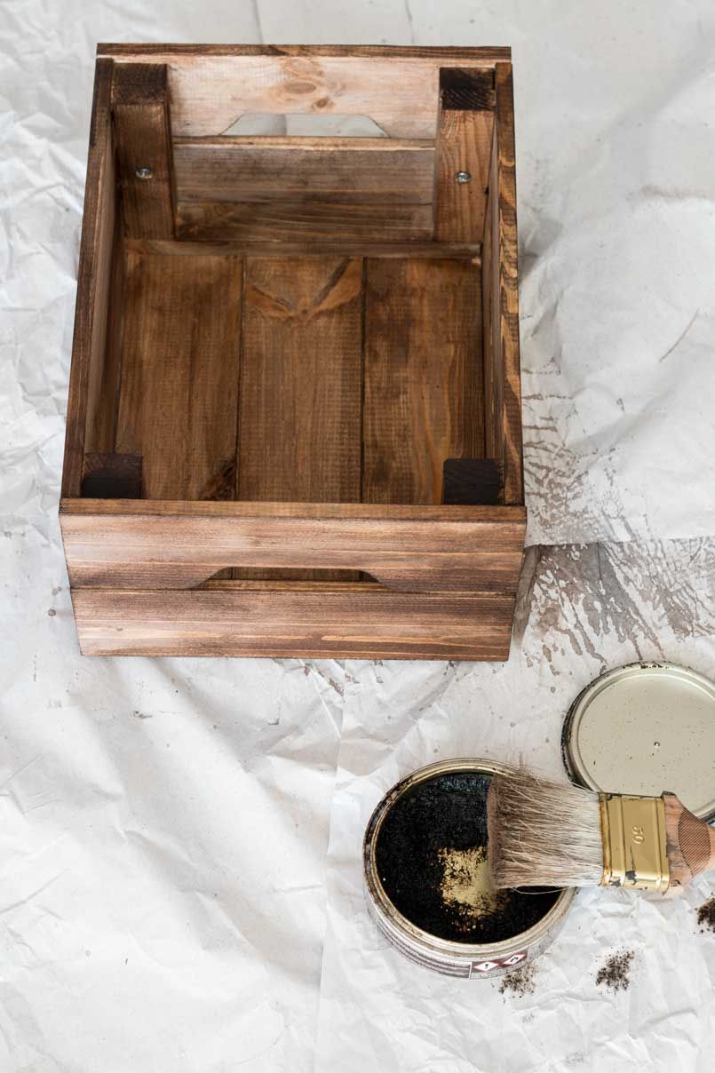 flexa early dew lak : Make Crates Look Old For The Home Pinterest Crates Ikea