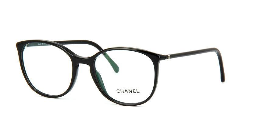 bf05a942a4 Chanel 3282 501 Black Glasses