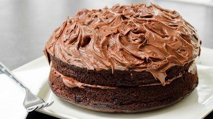 كيكة الشوكولاتة الباردة بالصوص Recipe Chocolate Cake مدونة جبنا التايهة Chocolate Cake Recipe Amazing Chocolate Cake Recipe Chocolate Fudge Frosting