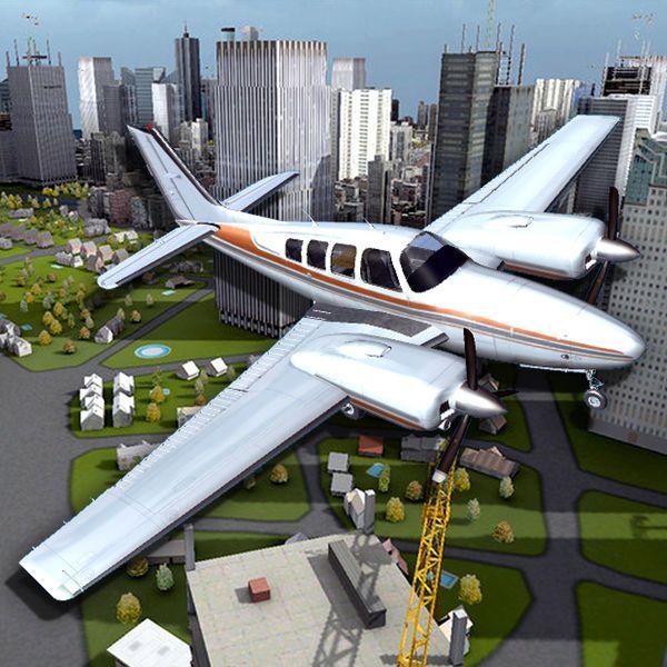 Download Flight Sim BeachCraft City for Mac Free #MacDownloads