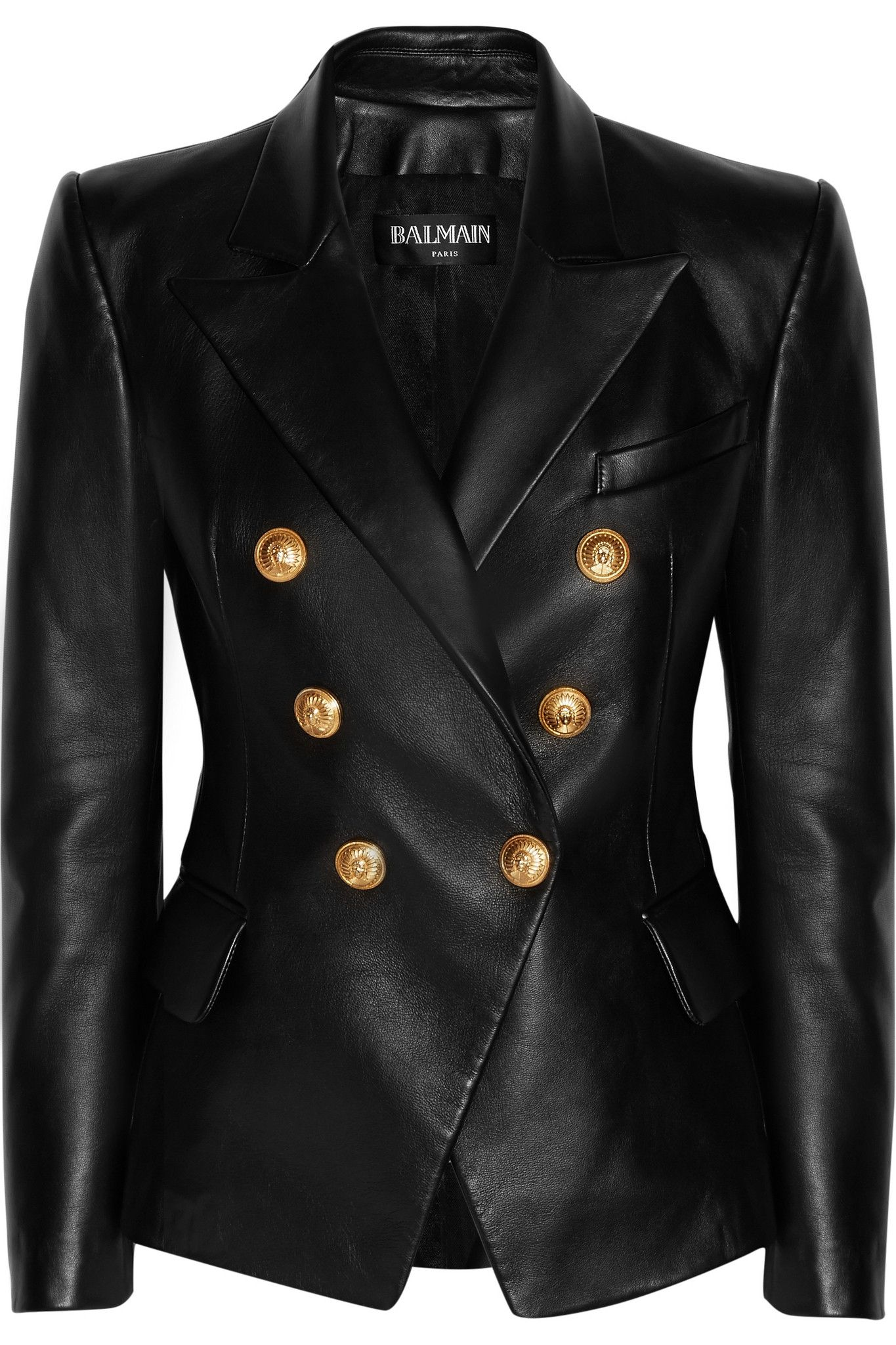 Blazer Fashion By Leather Pinterest On Mcguire Shannon Pin 7qZ0O