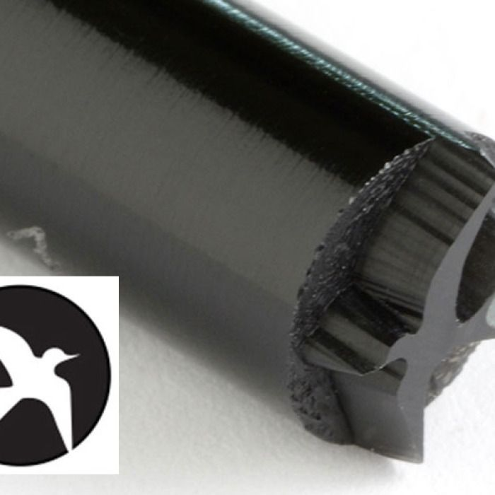 KS-034-Swallow 10 mm acrylic stamp by Kor Tools.