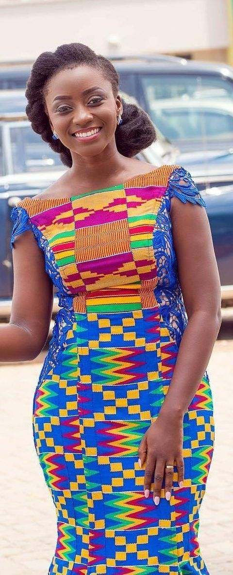 Ghana Kente Wedding Fashion African Fashion Ankara Kitenge
