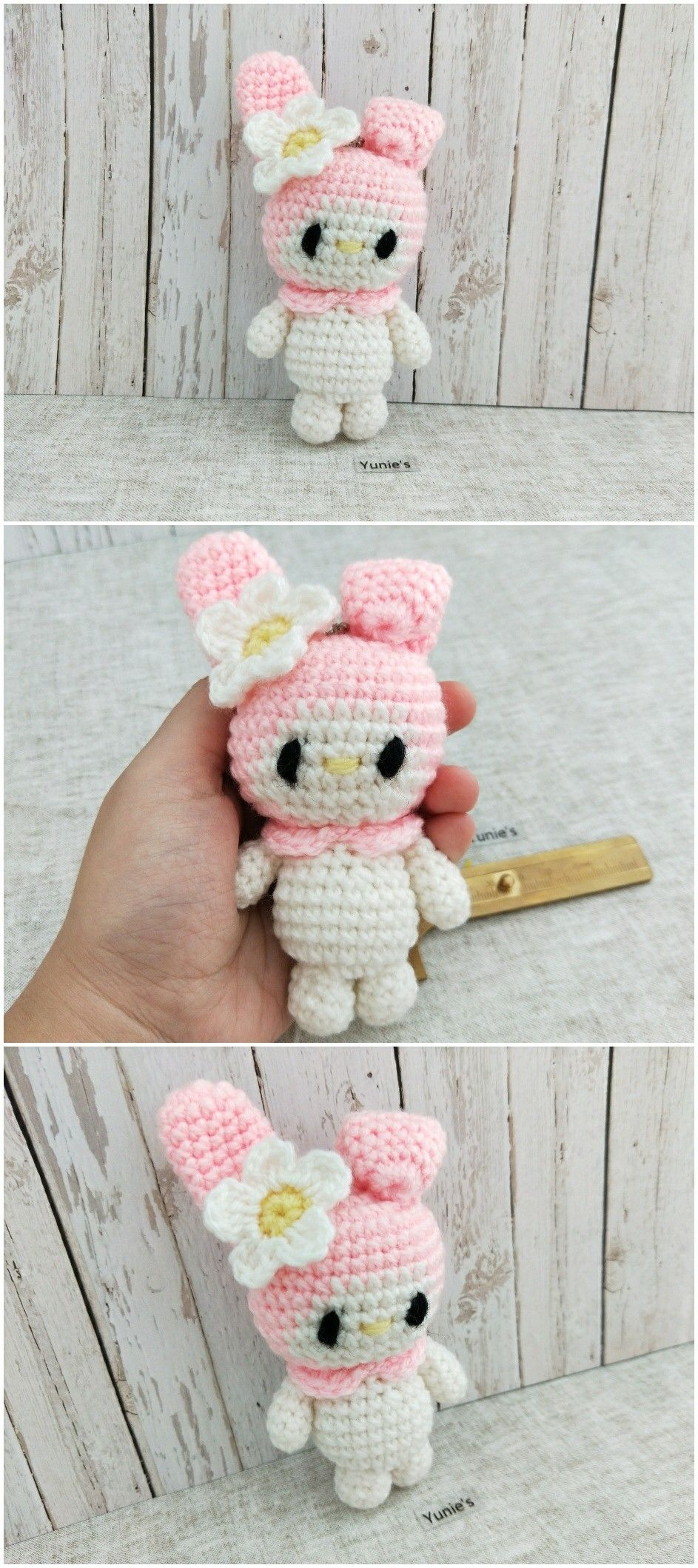 My melody amigurumi Crochet with love | Pinterest Mini-Mall Viral ...