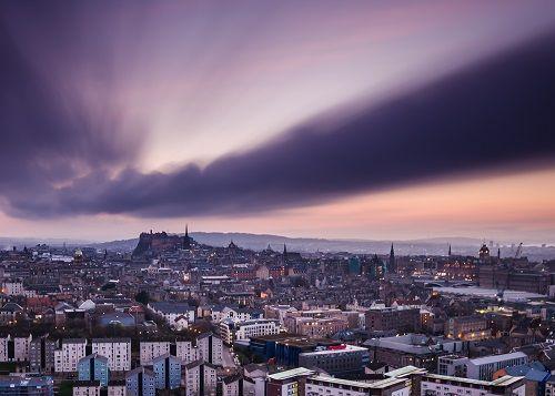 Edinburgh Dusk Skyline Hiducs 500 (1)