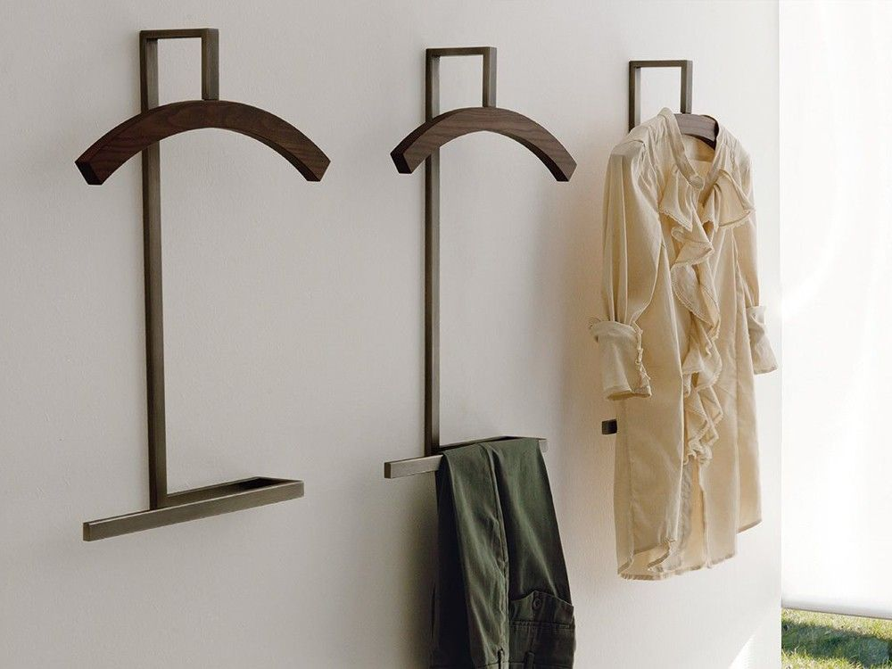 Porada Double Wall Mounted Clothes Stand By P Salvad