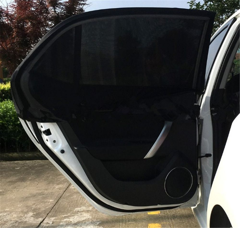 Universal Car Rear Side Window Sun Shade SUV Auto Fit Baby