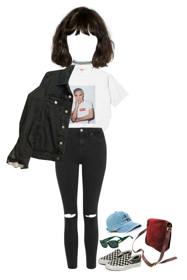 """Untitled #240"" by kaylastar221 on Polyvore featuring Topshop, Vans, American Apparel, Cartier, Hermès and Calvin Klein"