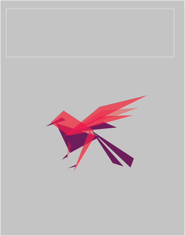 minimalist vector birdy, I'm thinking about adding some minimal texturing. I have ideas in my brain meat.