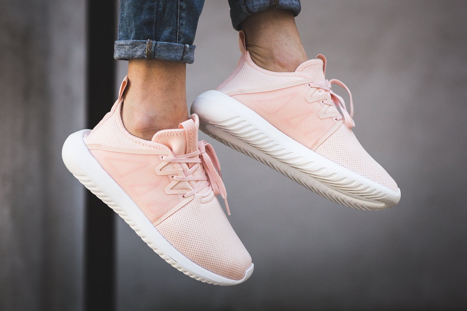 "8e2f2c4f7b9e Adidas Originals Gives The Tubular Viral 2 Silhouette An ""Icey Pink""  Makeover"