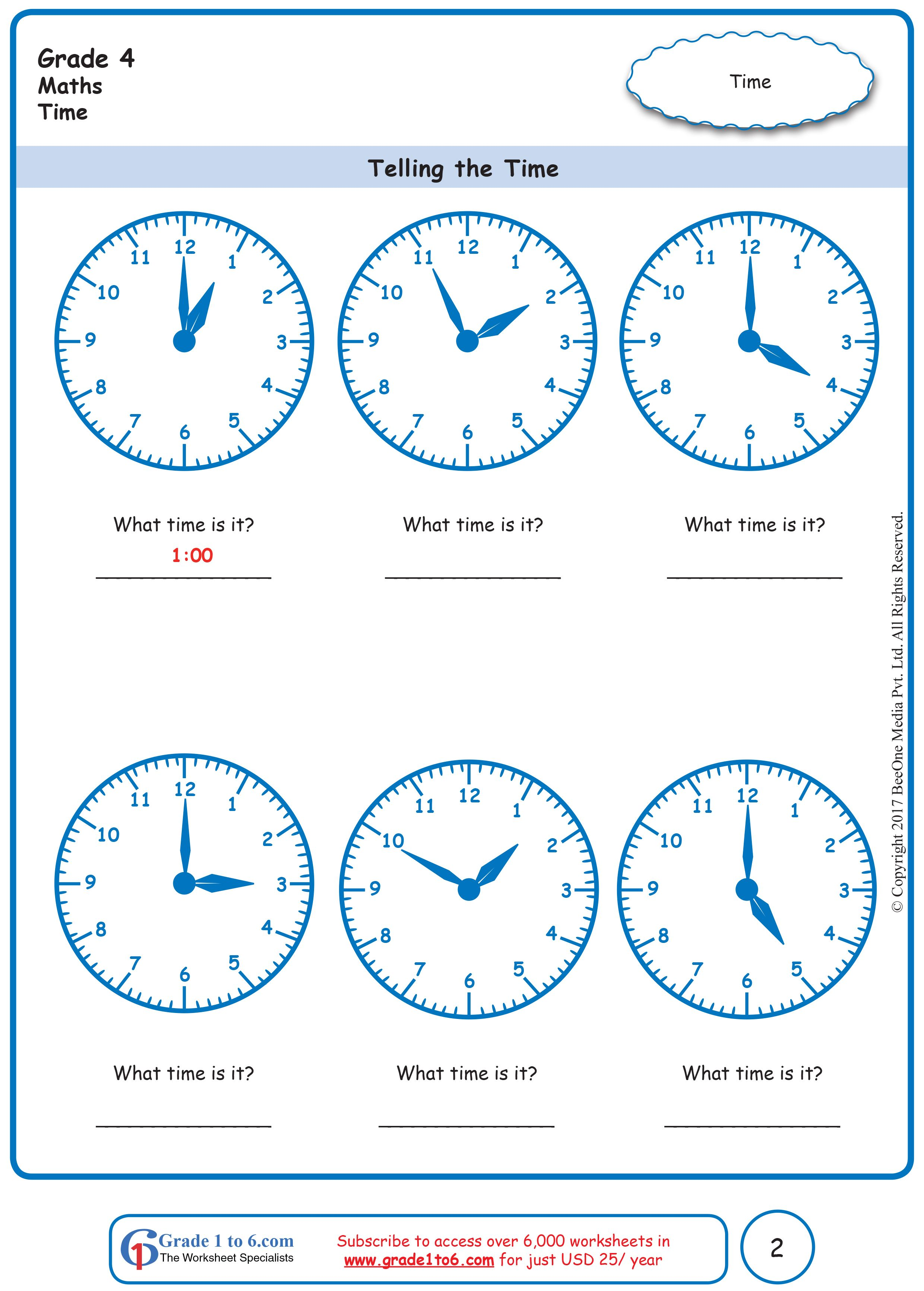 medium resolution of Telling Time Worksheets   Telling time worksheets