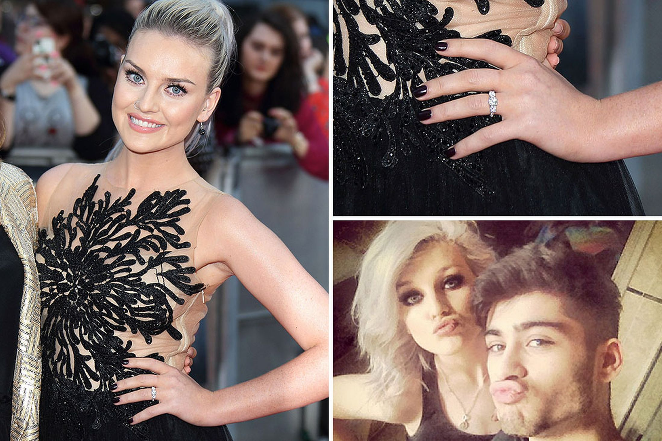 Zayn and Perrie spark engagement rumours after she's