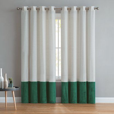 Andover Mills Remy Light Filtering Single Grommet Curtain Panel