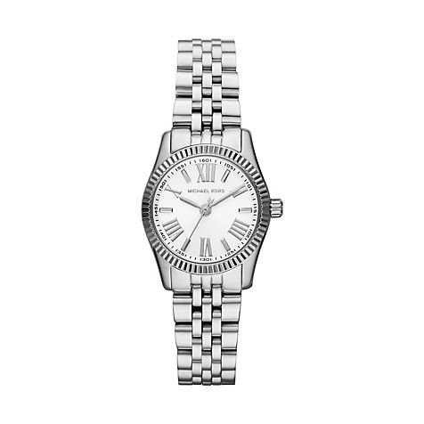 Michael Kors Watch Silver, a timeless classic