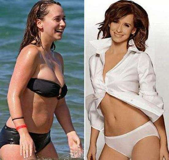 Jennifer love hewitt fake boobs