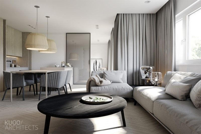 Exceptional Apartment Modern Interior Full Size   Decor   Greys And Chrome   Pinterest    Modern Interiors, Apartments And Interiors