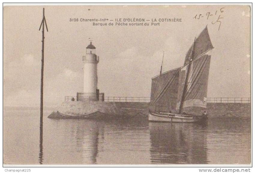 Cartes Postales Au Phare Delcampe Fr Ile D Oleron Carte
