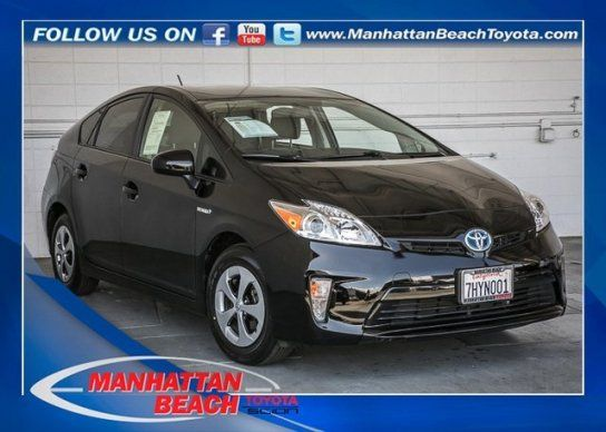 Hatchback, 2014 Toyota Prius Three With 4 Door In Manhattan Beach, CA (90266