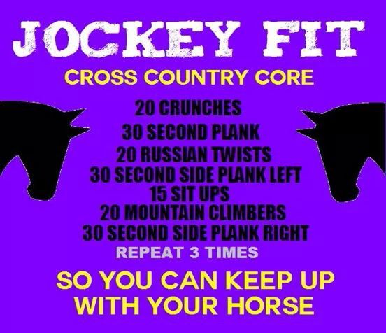Equestrian Workout For Your Core To Help You Maintain