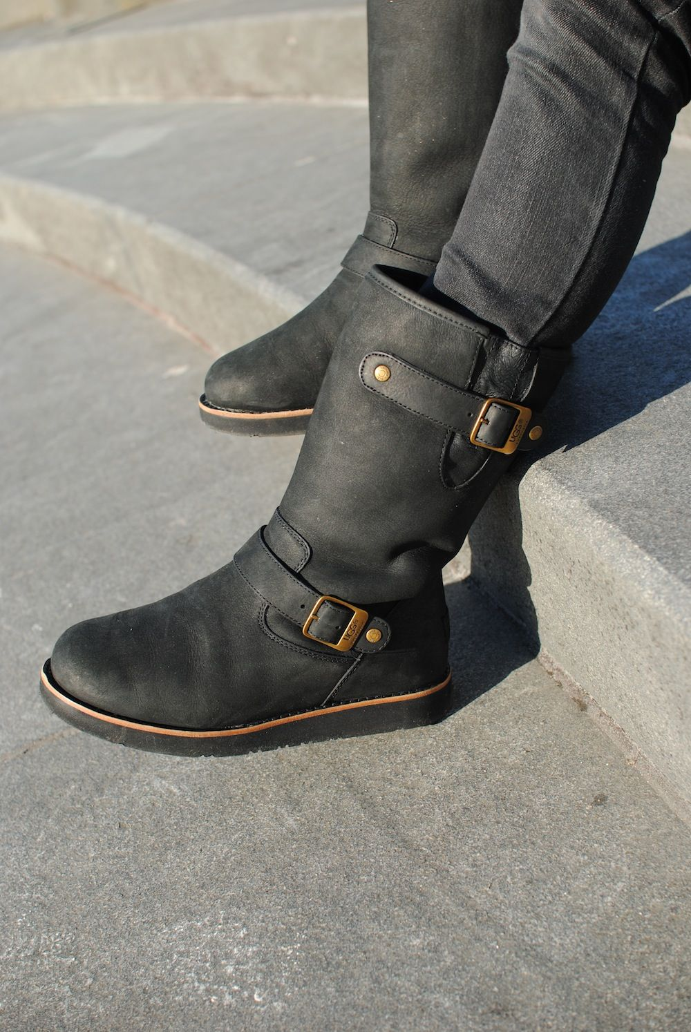 UGG Australia's motorcycle inspired winter boot for women - the Kensington