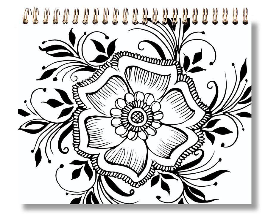 Sku 1359 Lotus Blossom Sketch Pad 8 X 10 In 2019 A
