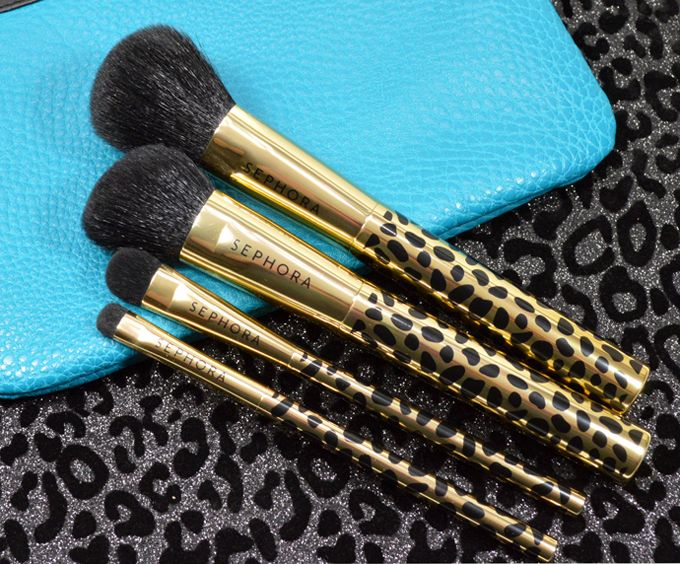 Sephora Collection 'Gold Den Brush Set' Brush set