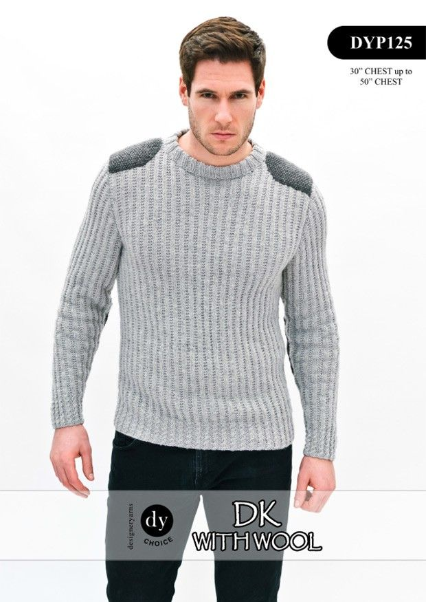 Mens Sweater in DY Choice DK with Wool (DYP125) Digital Version ...