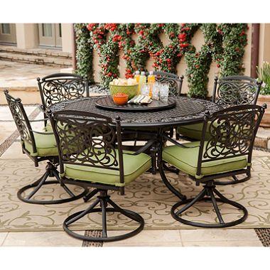 renaissance 8 pc outdoor patio dining