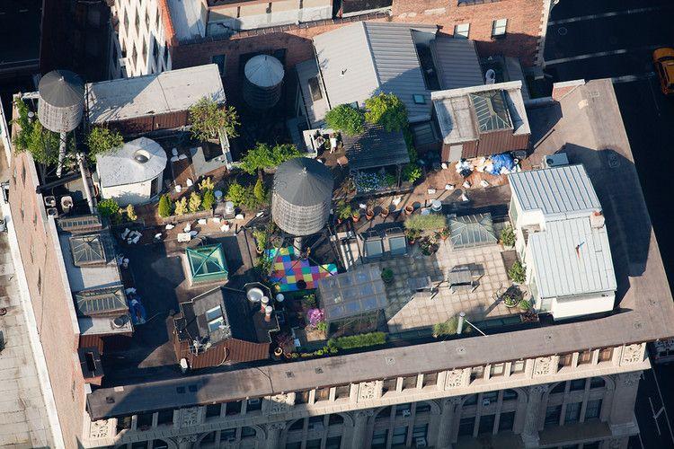 Exploring New York\u0027s Most Hidden Spaces Its Rooftops Rooftop