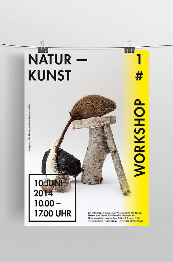 Naturkunst Workshop on Behance