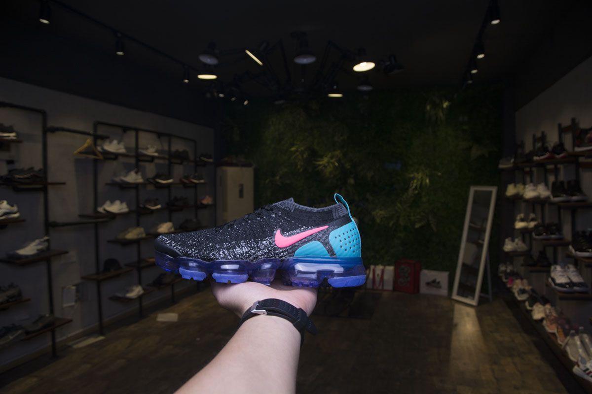f4a6ec2382 Nike Air VaporMax 2.0 942843-003 Black Blue Red Girls Shoes9 | Nike ...