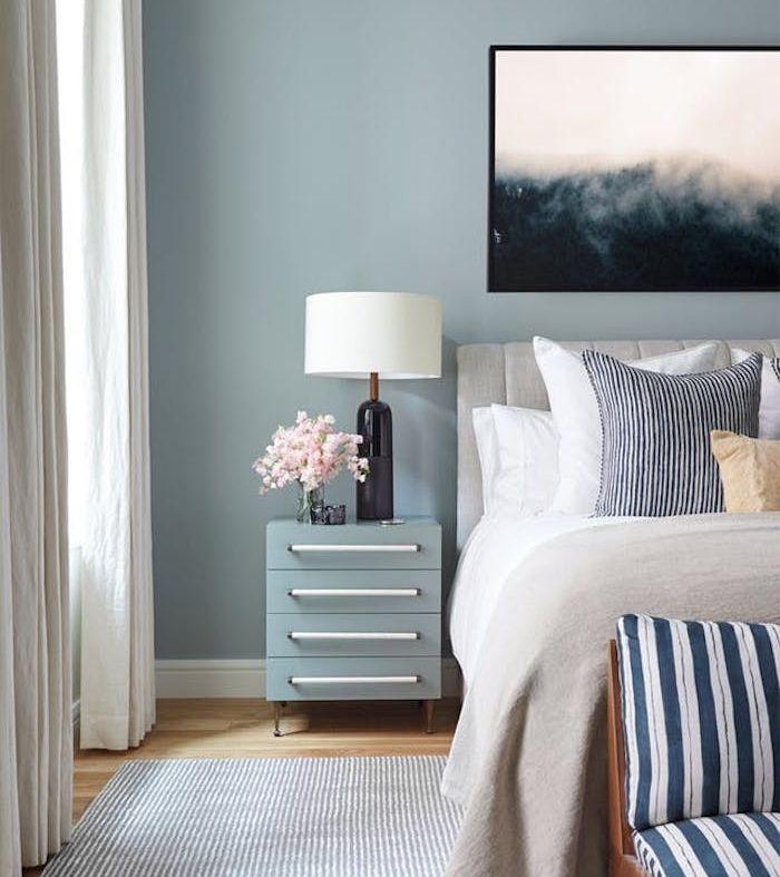 1001 id es pour choisir une couleur chambre adulte tete de lit couleur chambre adulte - Idee de couleur pour une chambre ...