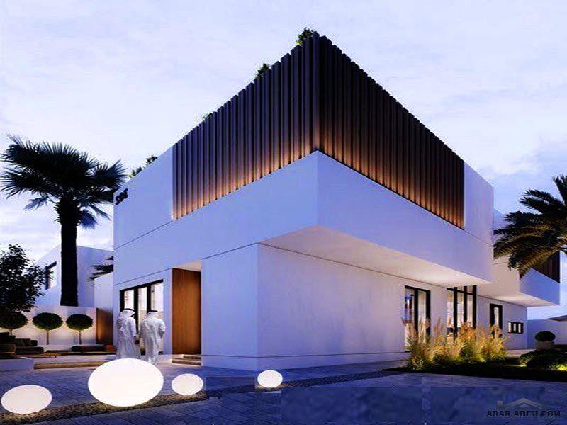 فيلا سكني التصميم النموذجي أوج فيلا عن المصمم المهندس عبدالإله الحربي مساحة الأرض 375 متر مربع House Styles Mansions Home