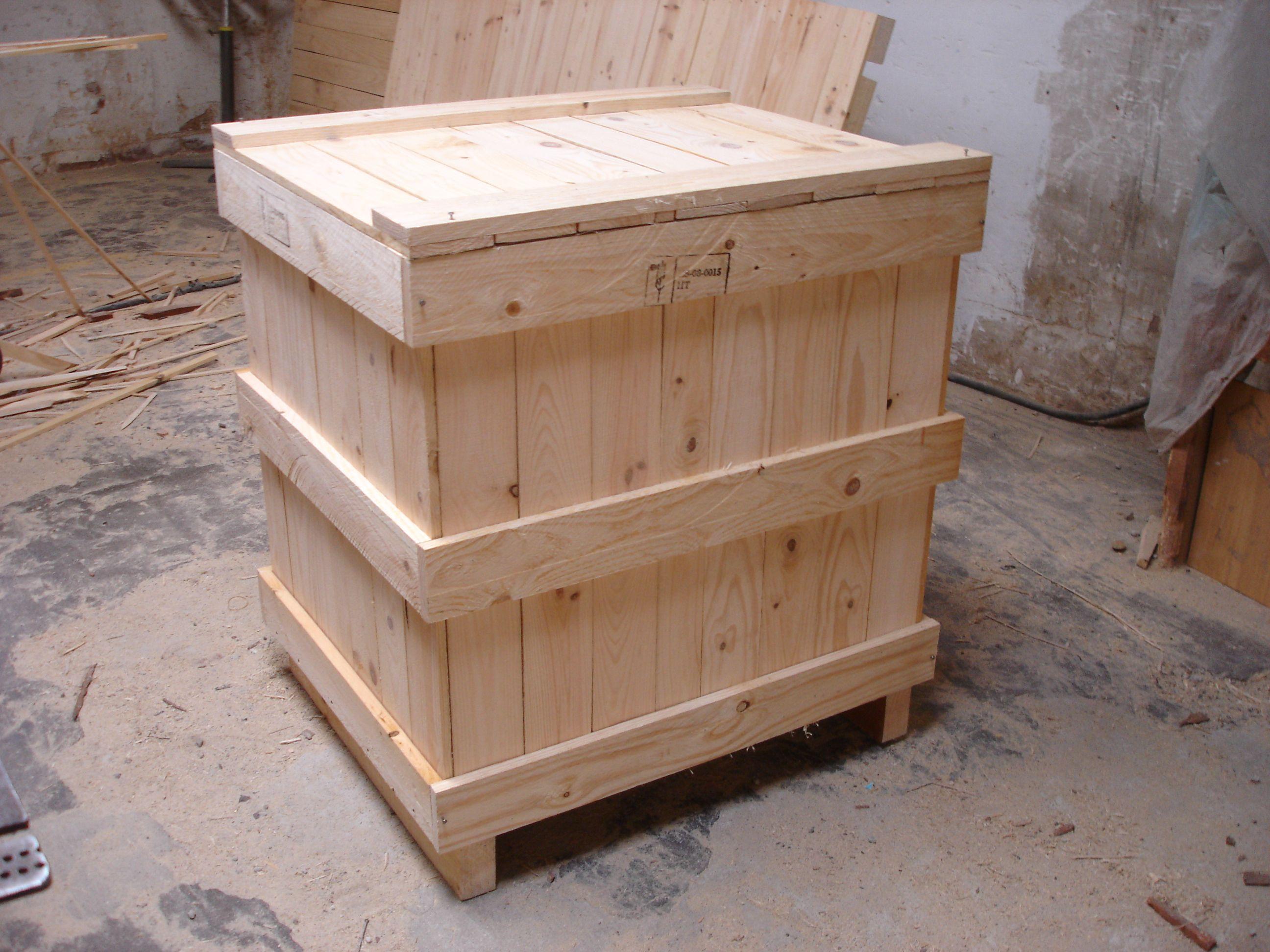 Embalaje De Madera Para La Exportaci N Cajas De Madera  # Muebles Gema Bogota