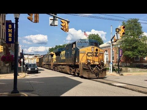 Longest Street Running Freight Train Ever Two Miles Long Csx In The