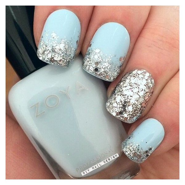 Nail Art Ideas For Brides Liked On Polyvore Featuring Beauty