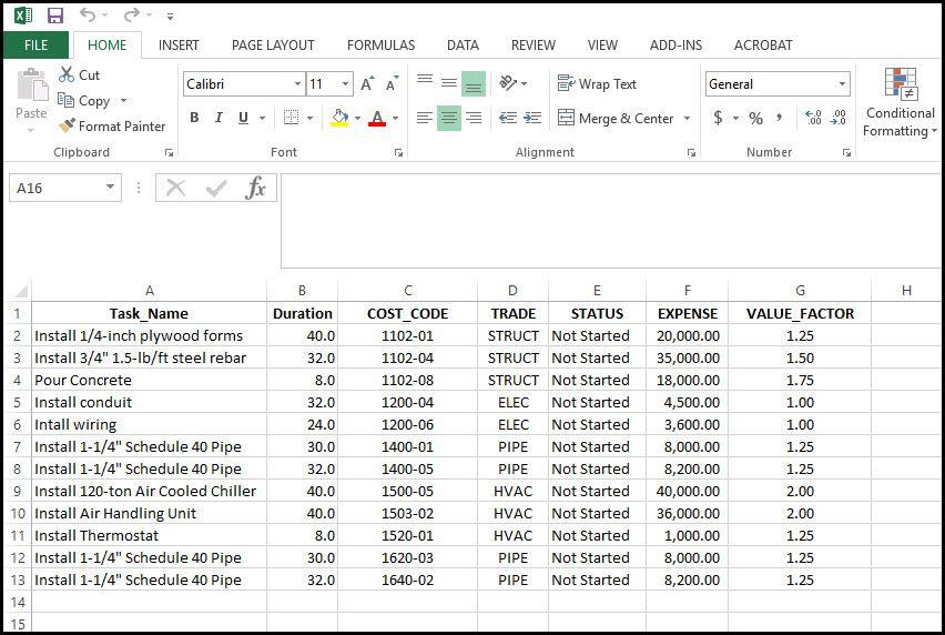 Import Microsoft Excel Xls And Xlsx Data File Into Microsoft Project Microsoft Project Data Computer Skills