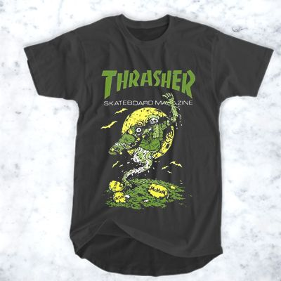 c2ff56991c03 Thrasher The Devil T-Shirt for Men and Women in 2019   Peanutsausage ...