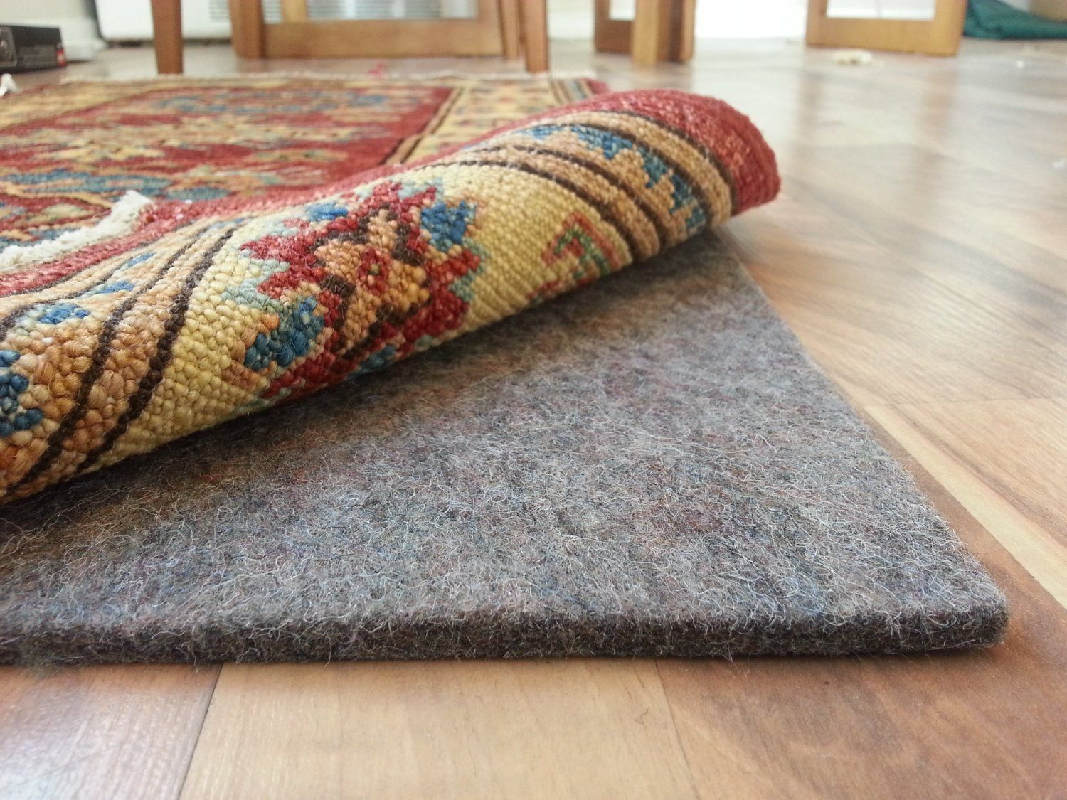 Com 100 Felt Rug Pad Safe For All Floors Extra