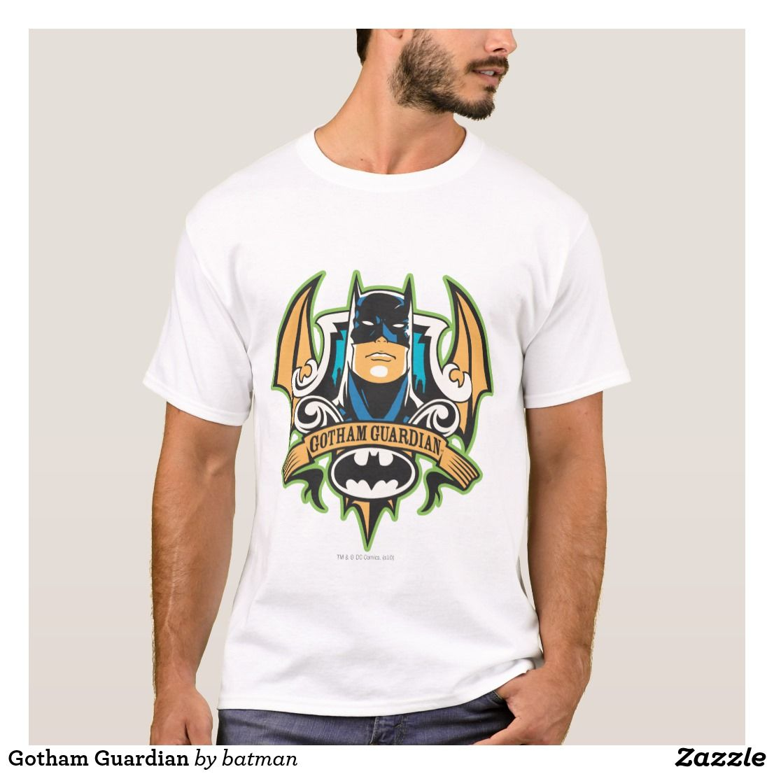 c4ff8c77 Gotham Guardian T-Shirt. Awesome Batman from DC Comics. Unique superhero  designs to personalize as a gift for yourself, friends and families.