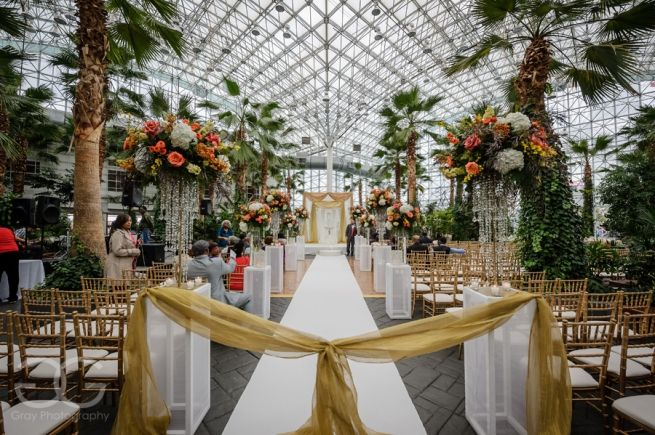 picture of ceremony location at crystal gardens