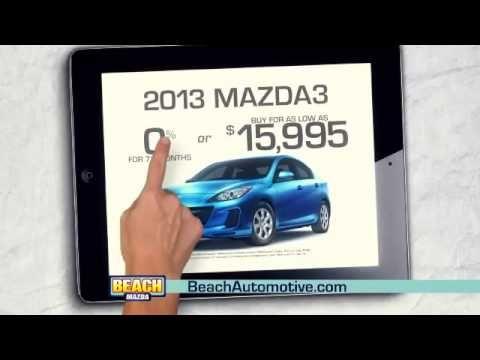 Beach Automotive November 2013 Commercial Beach Mazda iPad