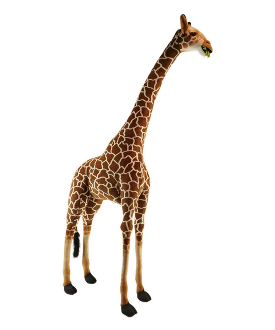 I Would Love To See This One Delivered 94 Tall Hahaha This Extra Large Giraffe Collectible Plush Toy By Hansa Toys I Collectable Plush Large Giraffe Giraffe [ 1152 x 959 Pixel ]