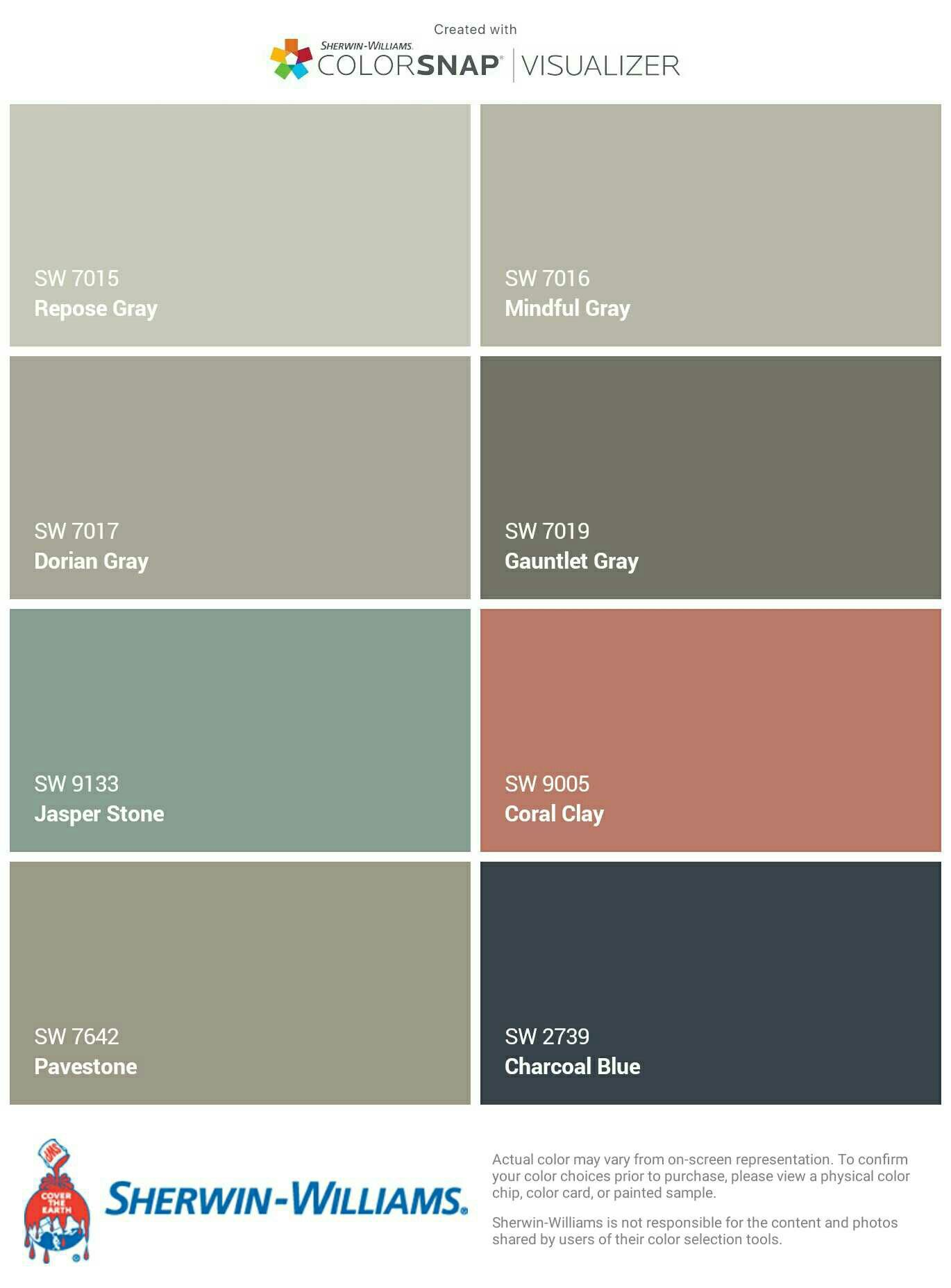 i just created this color palette with the sherwin on benjamin moore color chart visualizer id=91915