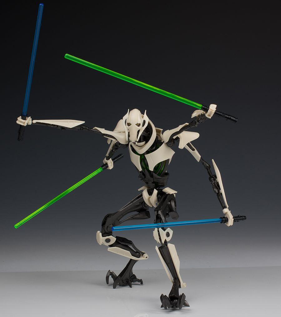 Full Detailed Review Bandai X Star Wars 1 12 General Grievous Many Images Star Wars Images Star Wars Star Wars Collection
